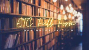 ETC Full Form