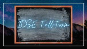 ICSE Board Full-Form