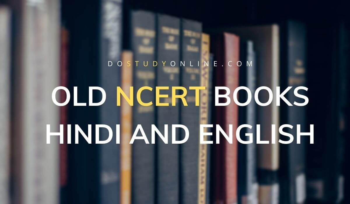 Old NCERT Books In Hindi And English Pdf Download