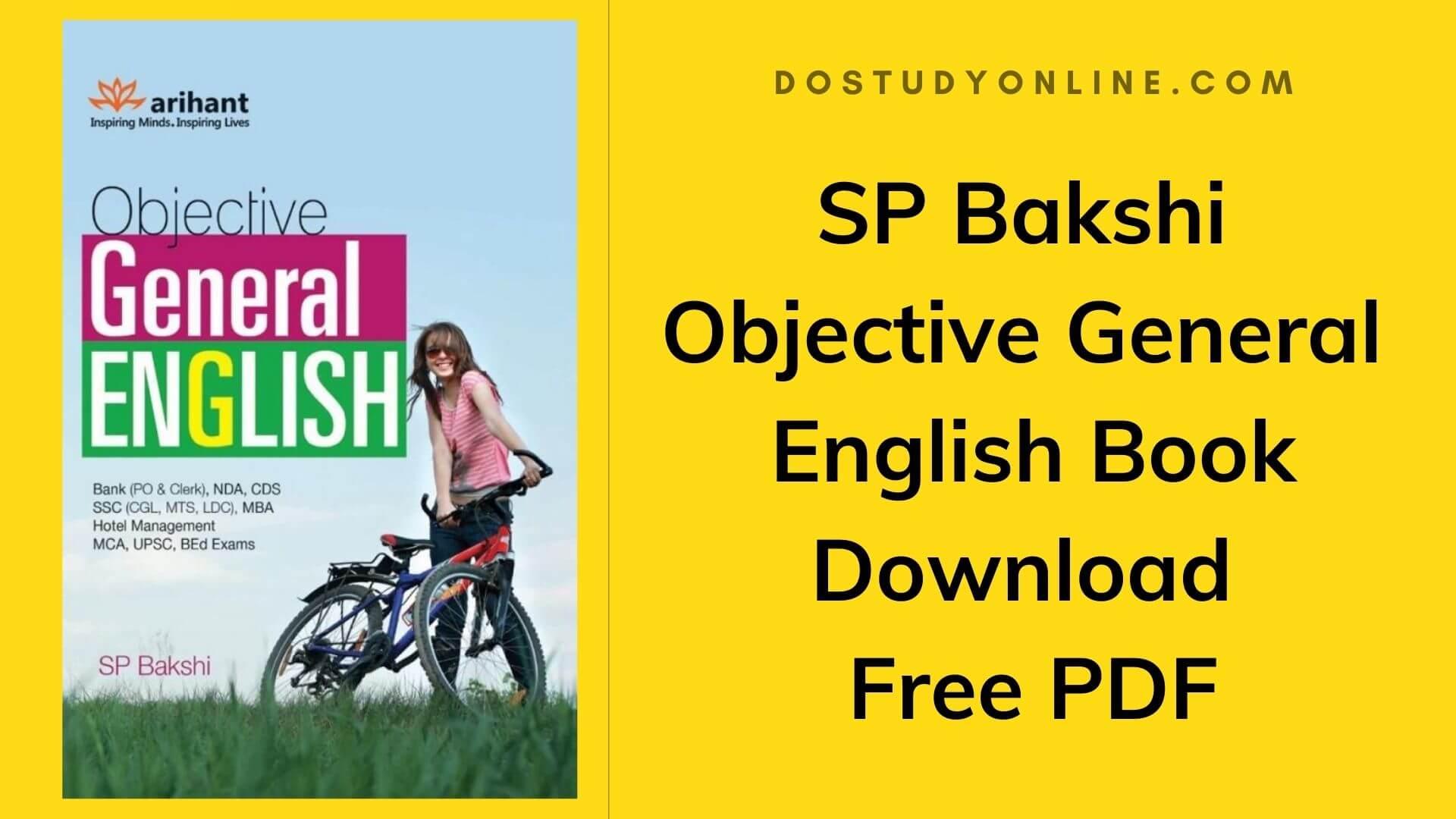 SP-Bakshi-Objective-General-English-Book-Download-Free-PDF