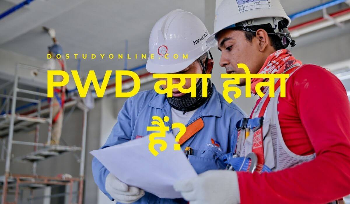 PWD full form hindi
